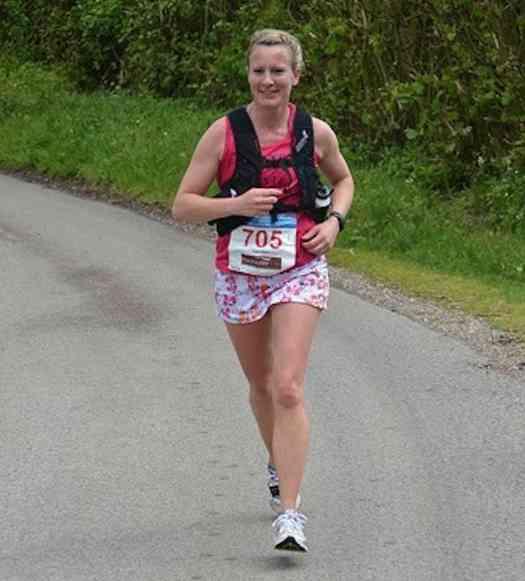 Kate Allen Halstead Marathon 2014